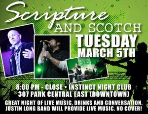 Scripture and Scotch